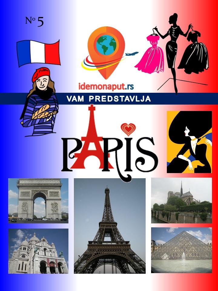brošura Pariz