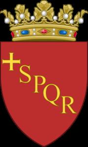 roman, sign