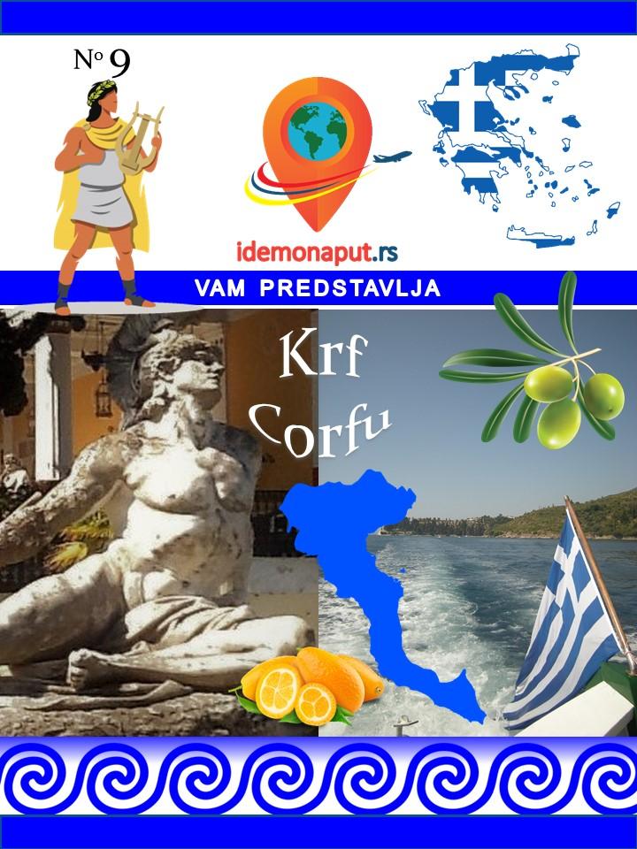 brošura Krf