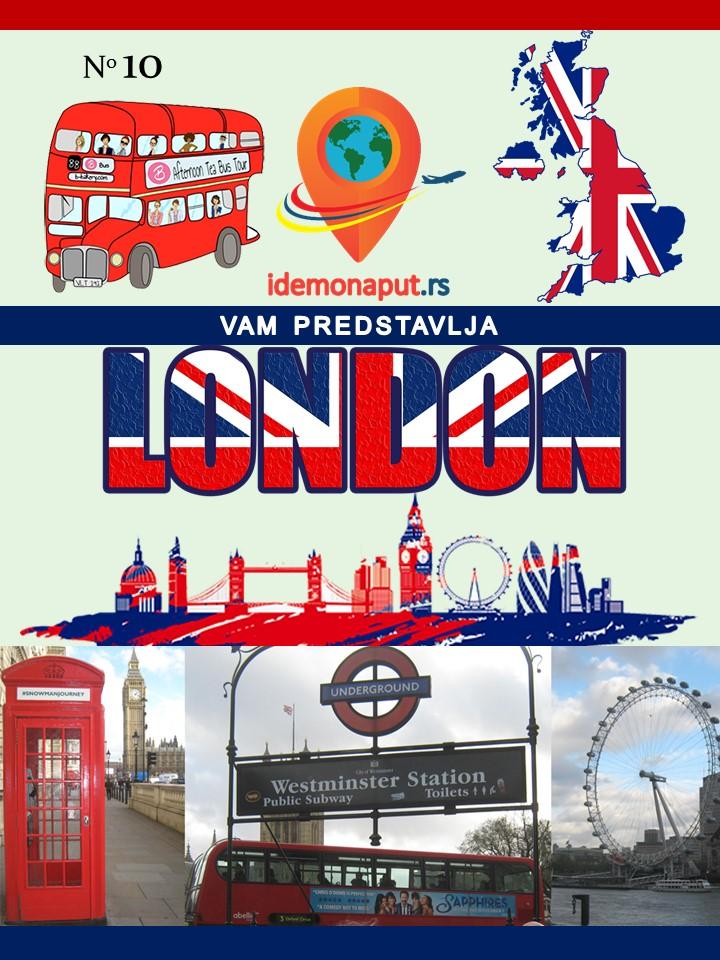 brošura London