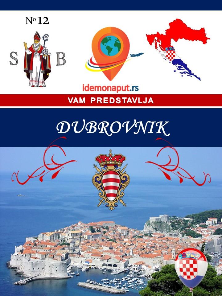 brošura Dubrovnik