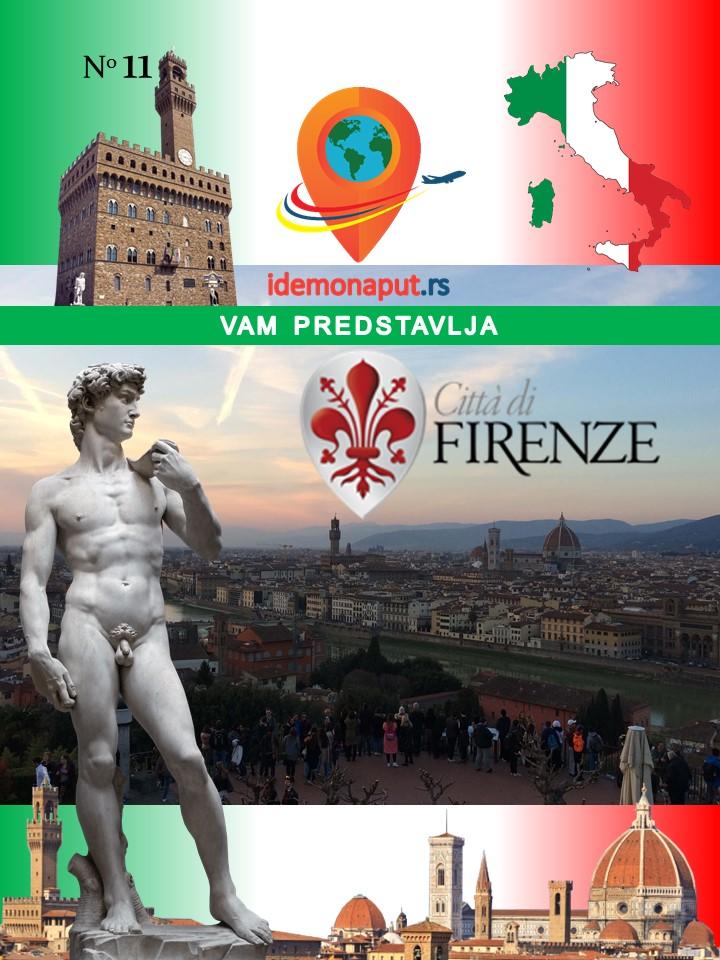 brošura Firenca