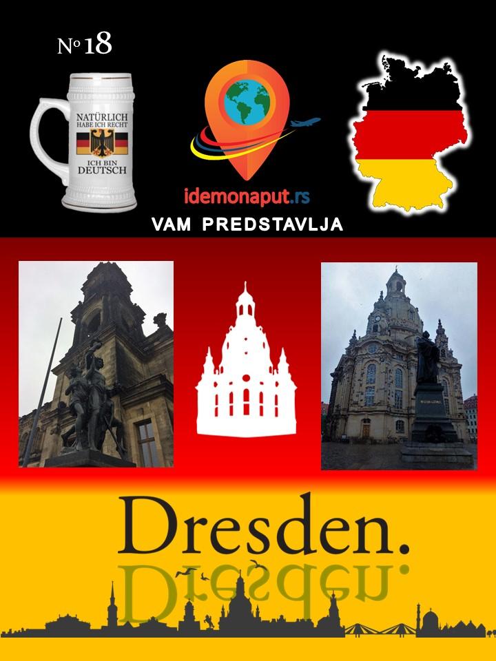 brošura Drezden