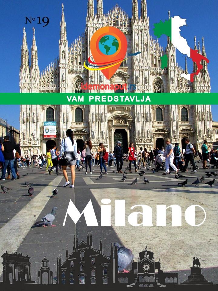 brošura Milano