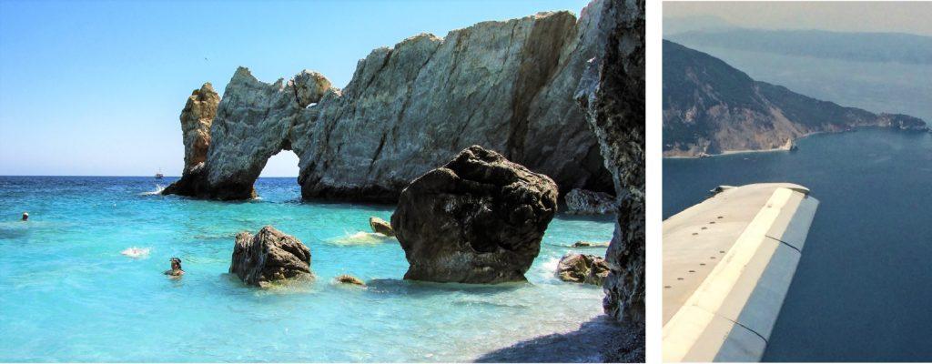 lalaria, plaža, grčka