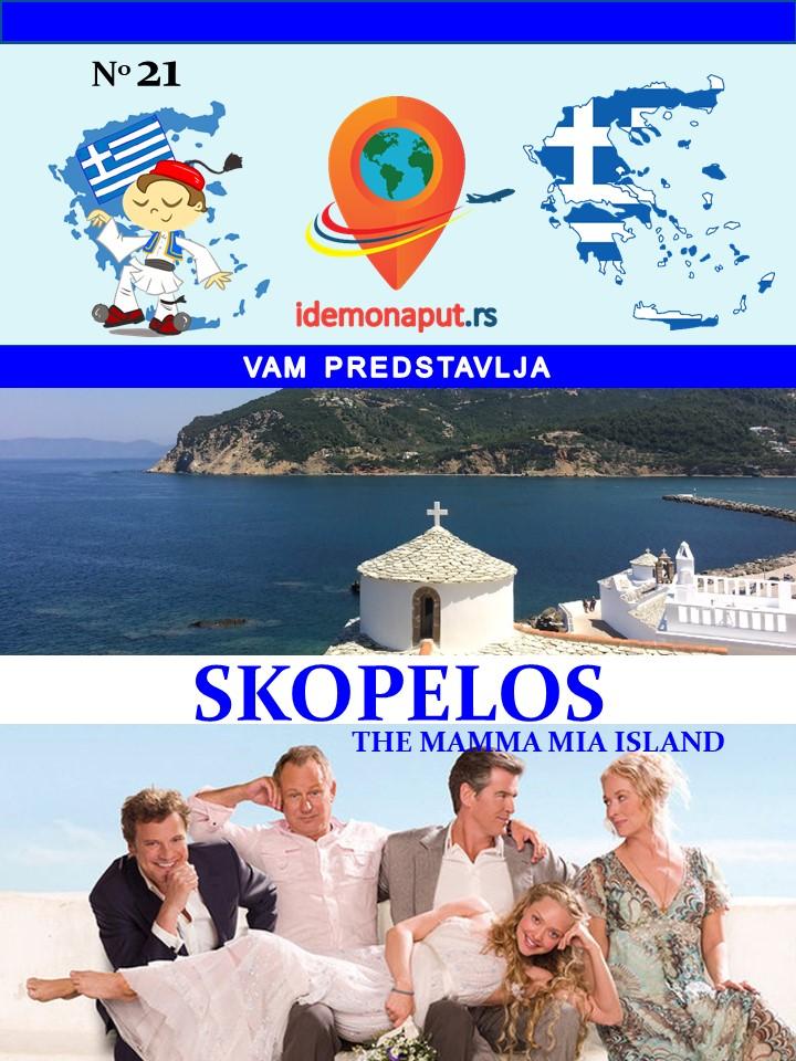 brošura Skopelos