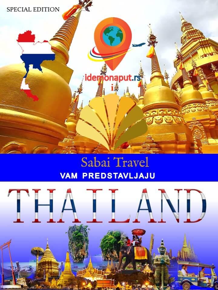 tajland, poklon, brošura