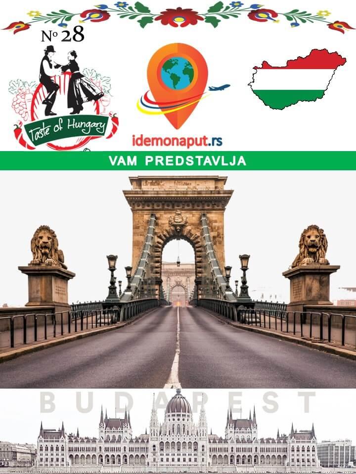 brošura Budimpešta