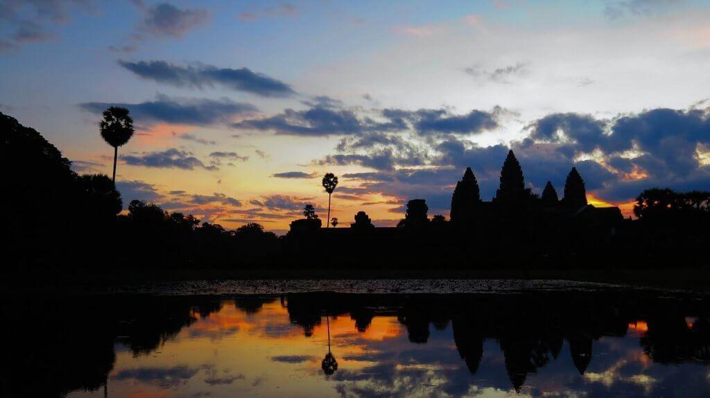 cambodia, sun