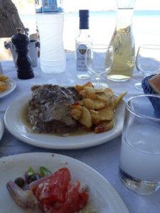 hrana, grcka