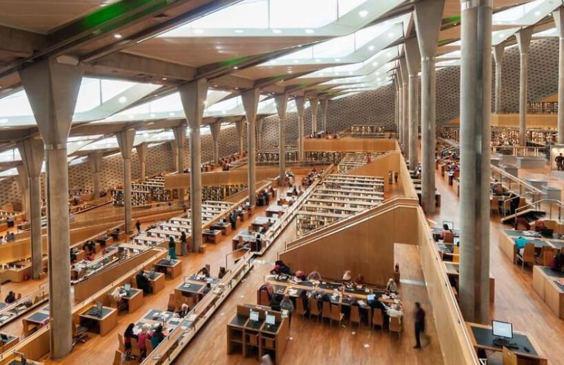Poznata egipatska biblioteka u Aleksandriji