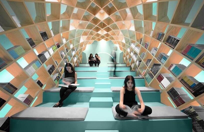 Meksička moderna prostorija za čitanje