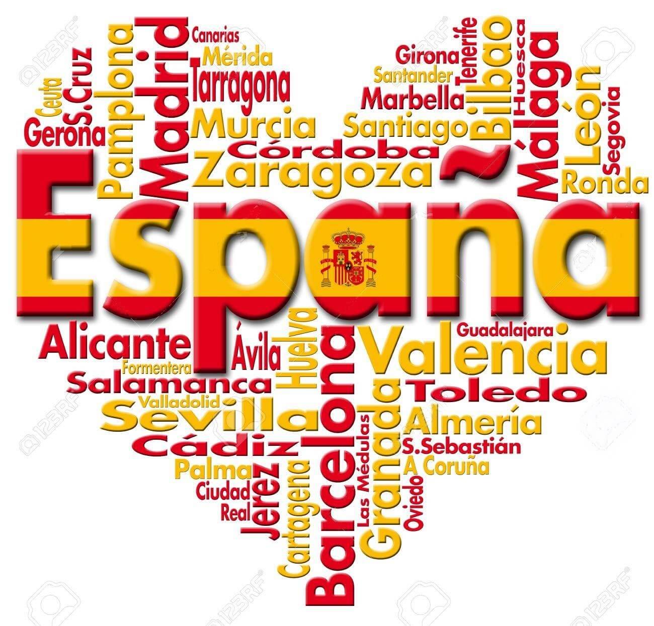 Španija – Spain – Espana – Pregled po regijama i gradovima