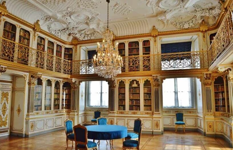 Prelepa danska biblioteka u Kopenhagenu
