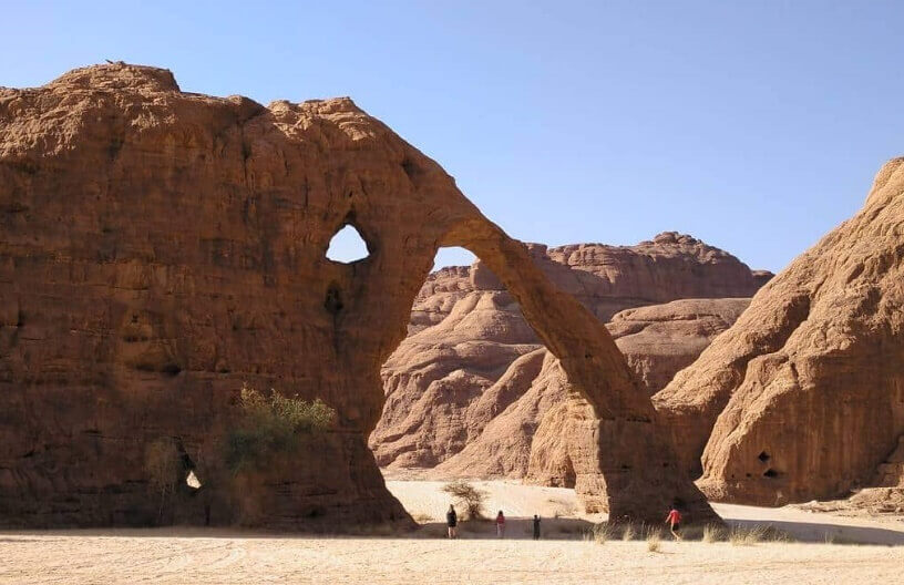 Stena u Sahari pod zaštitom UNESCO
