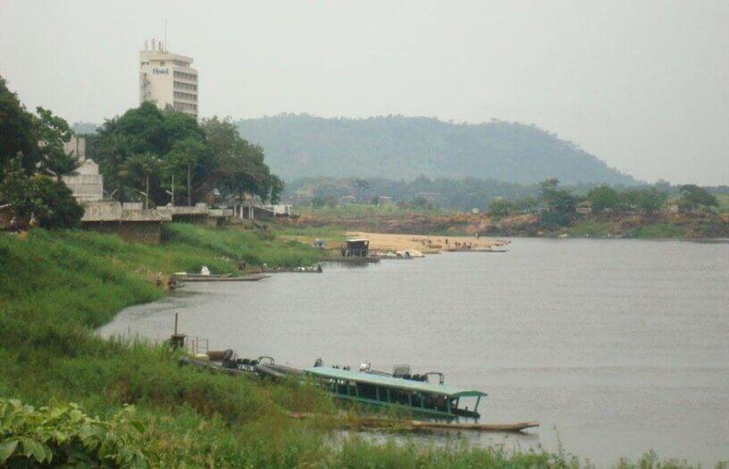 Reka u centralnom delu Afrike