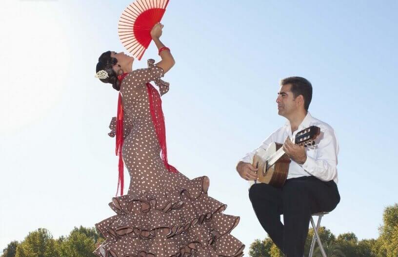 Plesni nastup i flamenko u Španiji