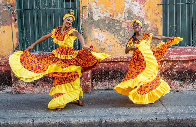 Kolumbijski tradicionalni ples