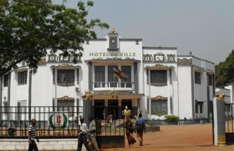 Hotel u centru glavnog grada Centralnoafričke Republike