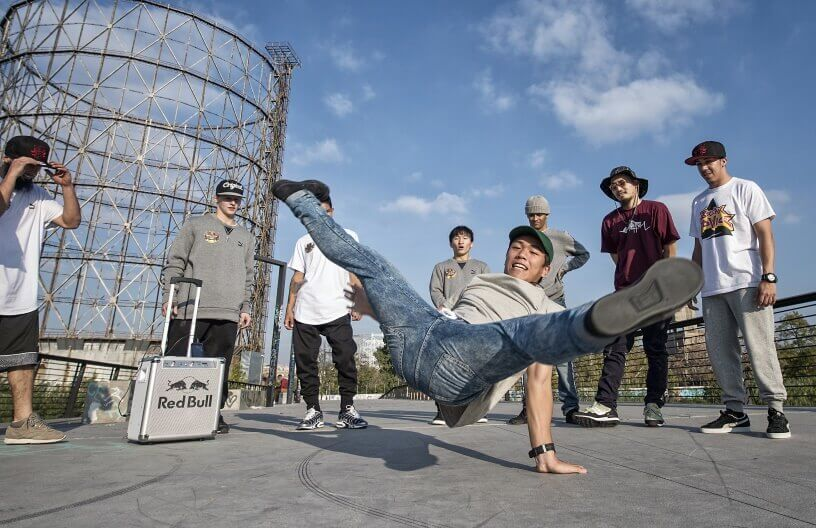 Breakdance na ulicama Njujorka