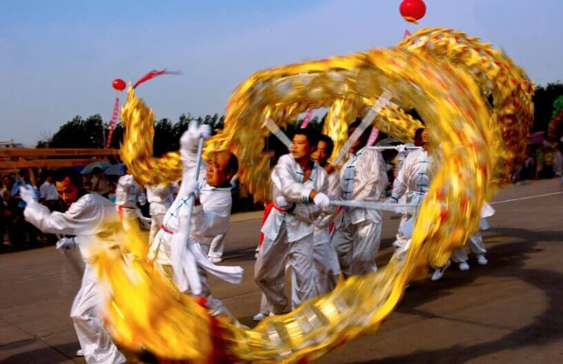 Zmajev ples u Kini