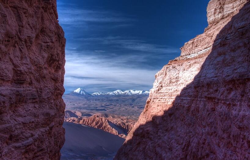 Pogled na Dolinu Smrti u Čileu