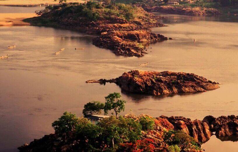 Jezero u središnjem delu Afrike