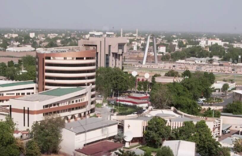 Panoramski pogled na glavni grad Čada