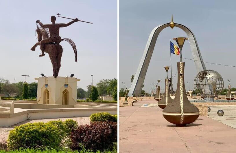 Statue na Trgu Nacije