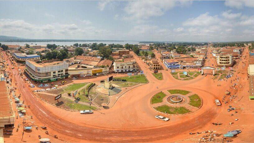Panoramski pogled na glavni grad